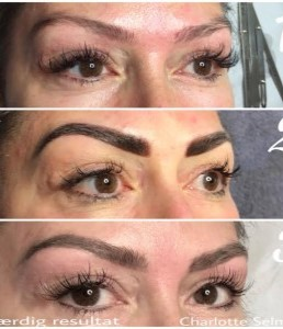 Permanent make-up på bryn Powder Brows